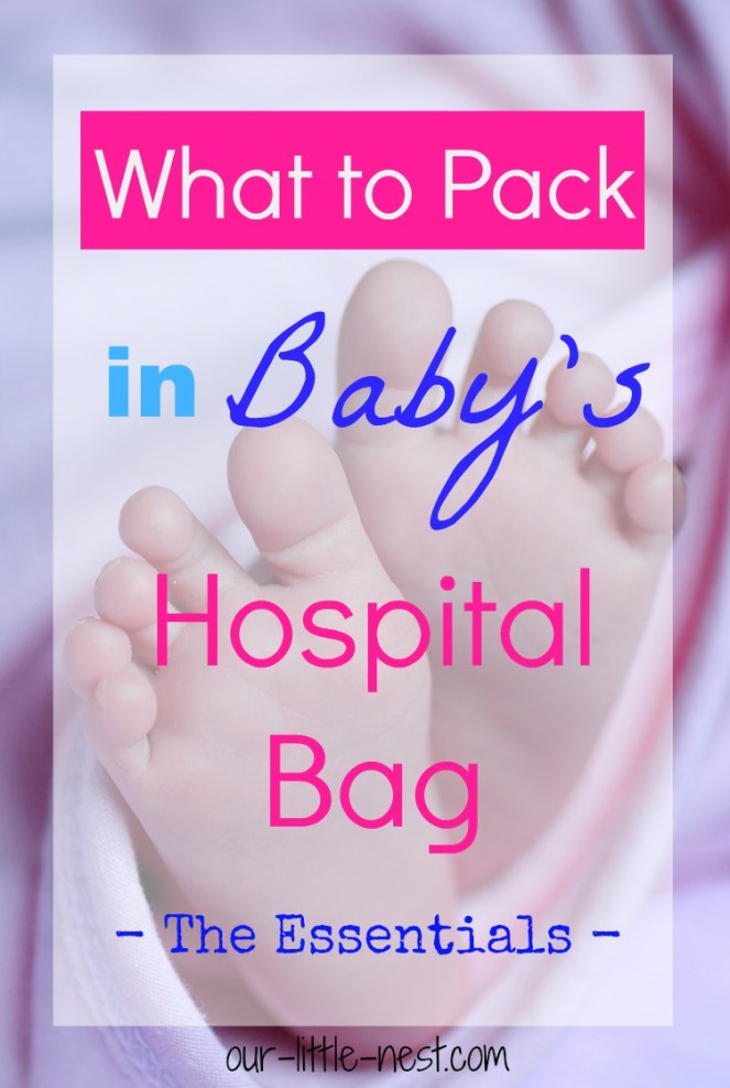 what-to-pack-in-babys-hospital-bag