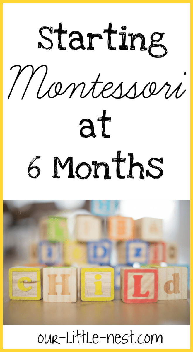 Starting Montessori at 6 Months