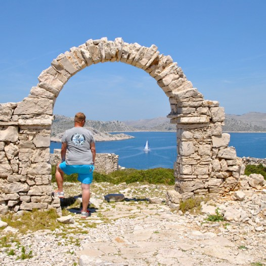 Kornati Nationalpark in Kroatien