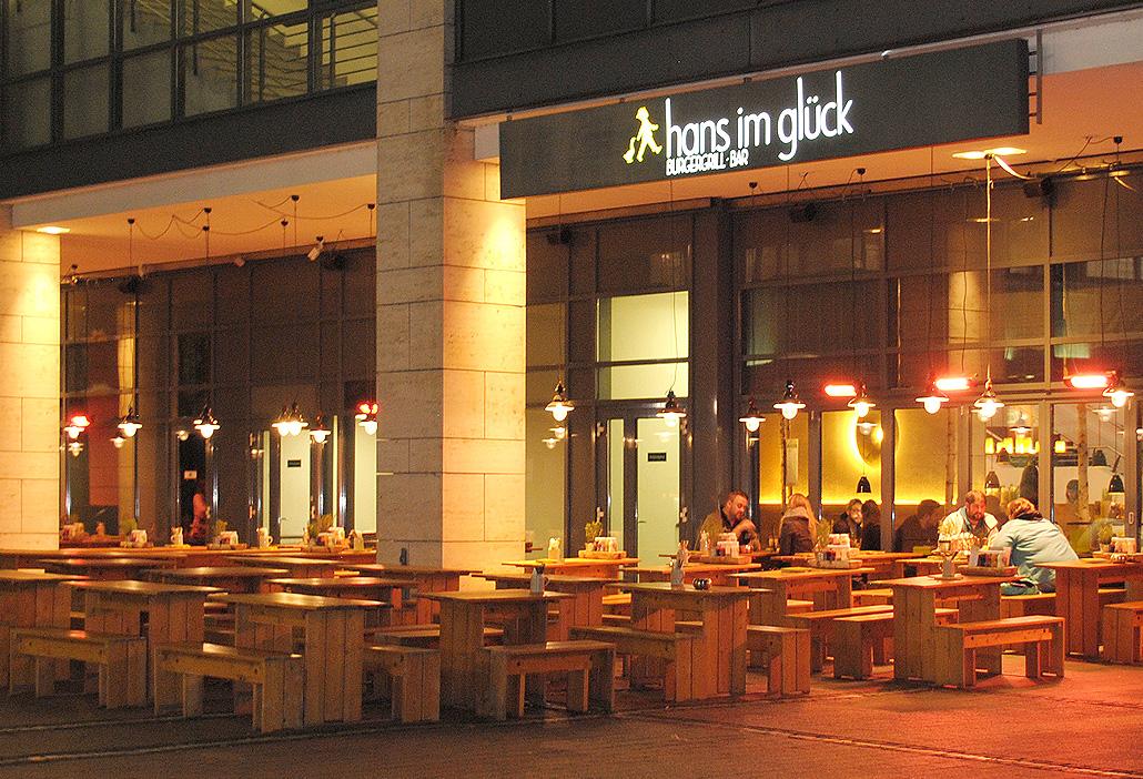Restaurant Hans im Glück im Mediapark Köln