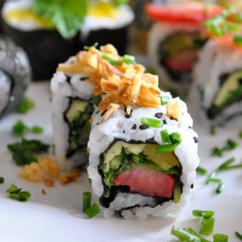 "Sushi aus dem ""Shu-Aka"" in Funchal/Madeira"