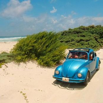 Mein Lieblingsauto auf der Insel Cozumel/Mexico