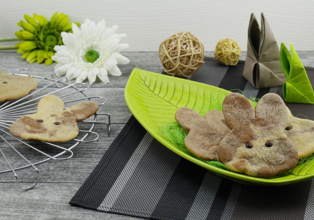 Rezept vegane Mürbeteig Plätzchen