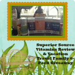 Superior Source Vitamins Review & Vacation Travel Family 6-Pack Giveaway {$90 Value- 7 Winners}