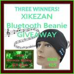 XIKEZAN Bluetooth Beanie Giveaway {3 Winners}