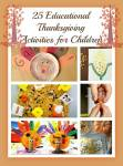 25 Creative Educational Thanksgiving Activities For The Little Ones