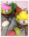 Peeps Dirt Cup Parfaits