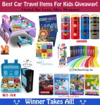 Best Car Travel Items for Kids Giveaway! 12 Prizes!