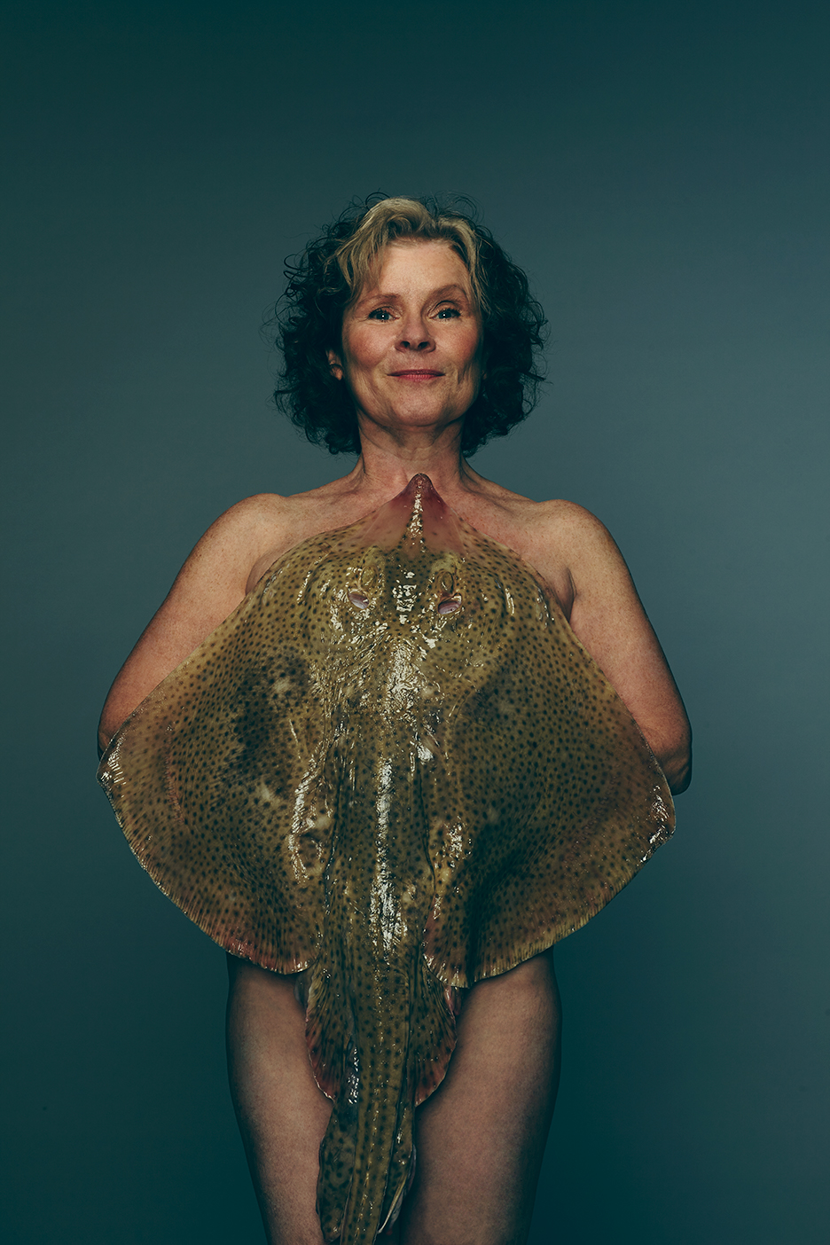 Amelia Fox Naked celebrities pose naked with fish for fishlove campaign to