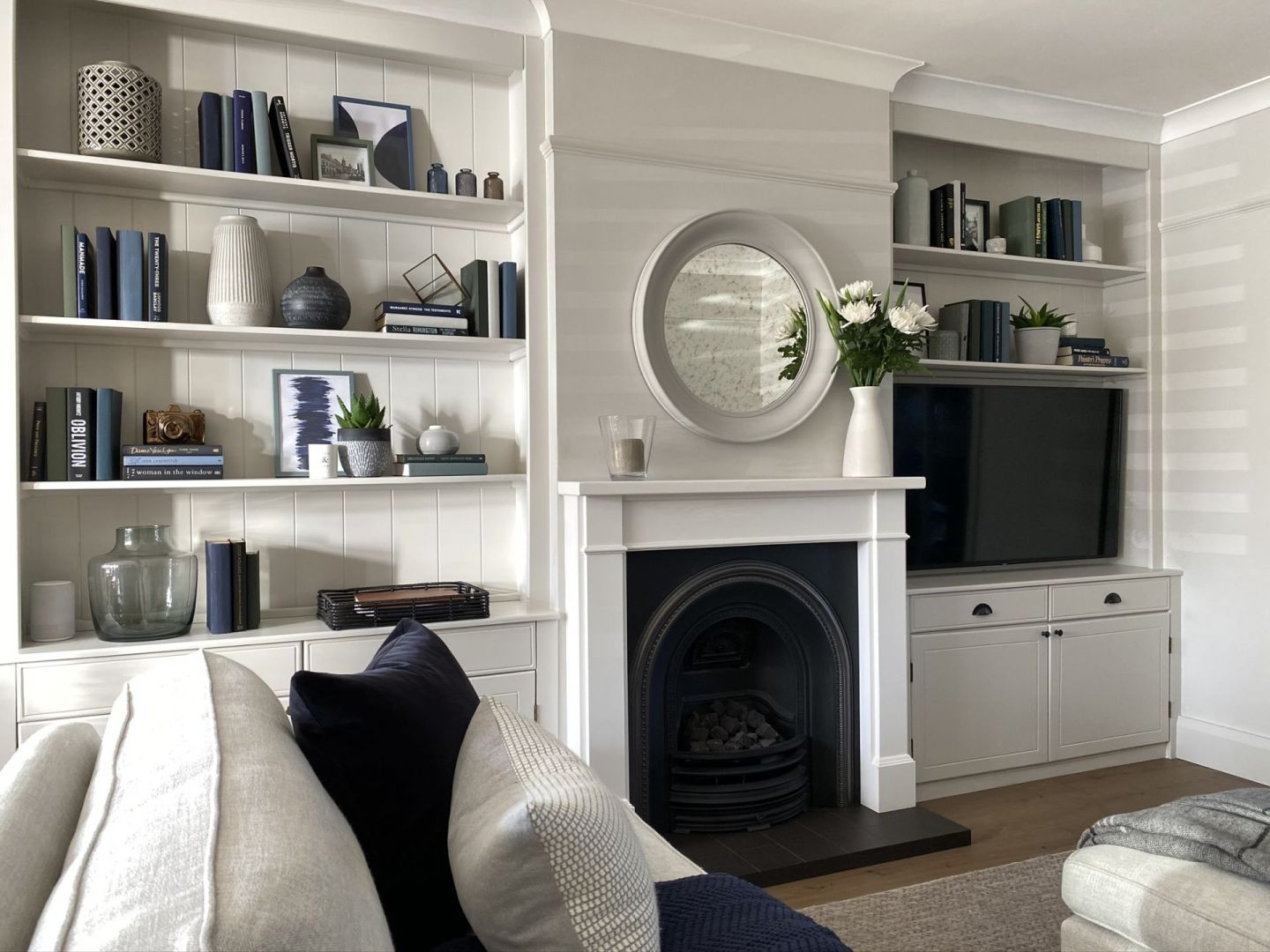 Our Living Room Alcoves Project with Wickes