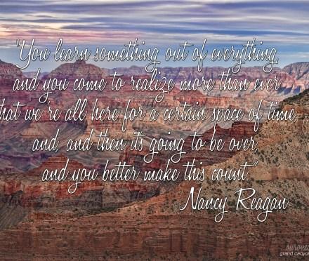 Nancy Reagan Quote