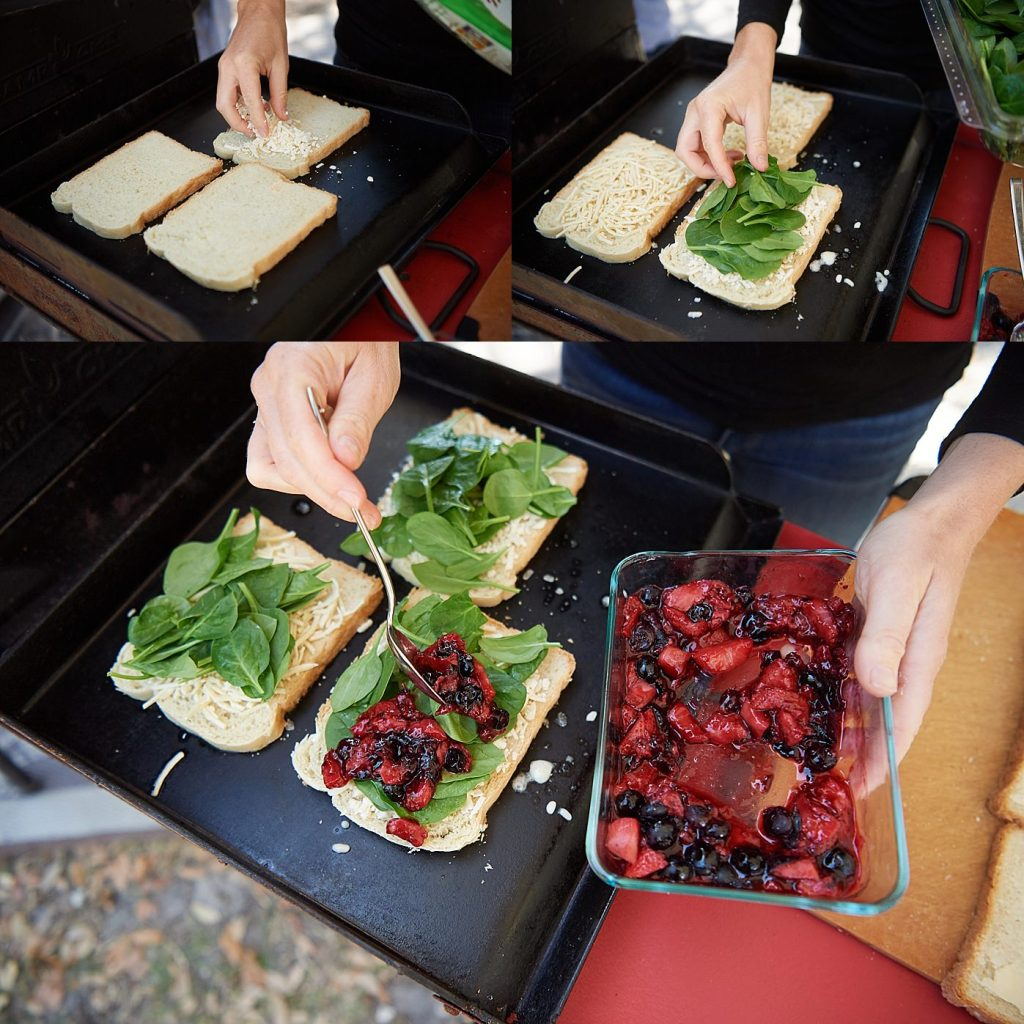 Berry Grilled Cheese Dairy Free