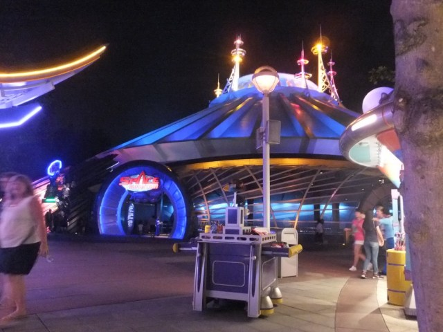 Space Mountain, we got there late but it was by far the favourite.
