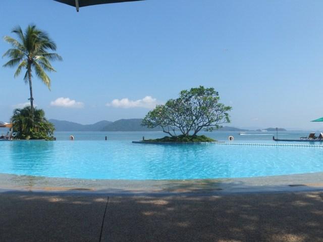 My infinity pool! So lush!