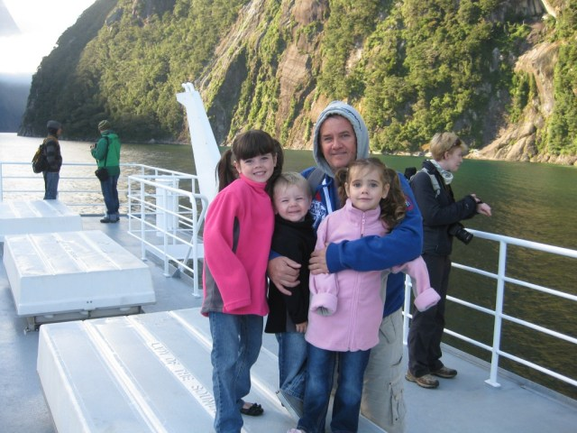 Milford Sound Boat Experience