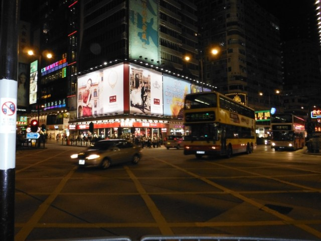 Nathan Rd, Kowloon by night