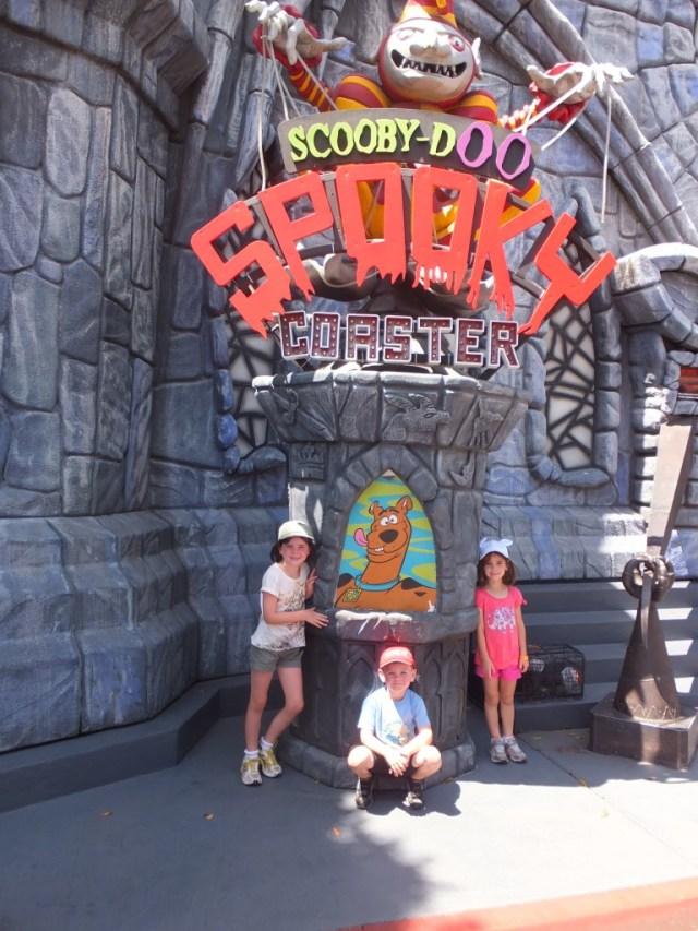 The Scooby Doo Spooky Coaster