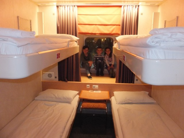 Cabin 8002 - right at the front of the ship