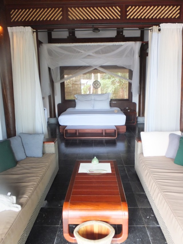 The 2nd bedroom of the beach front private villa