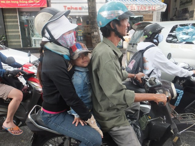 Life on the road - HCMC