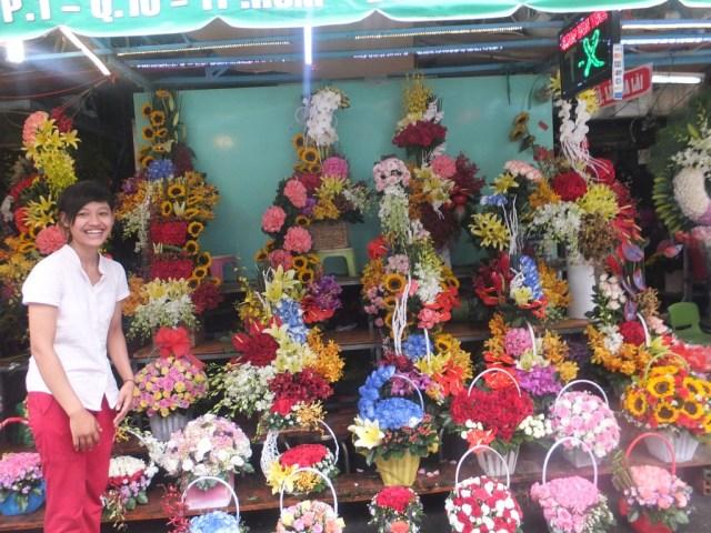 Flower Market - HCMC