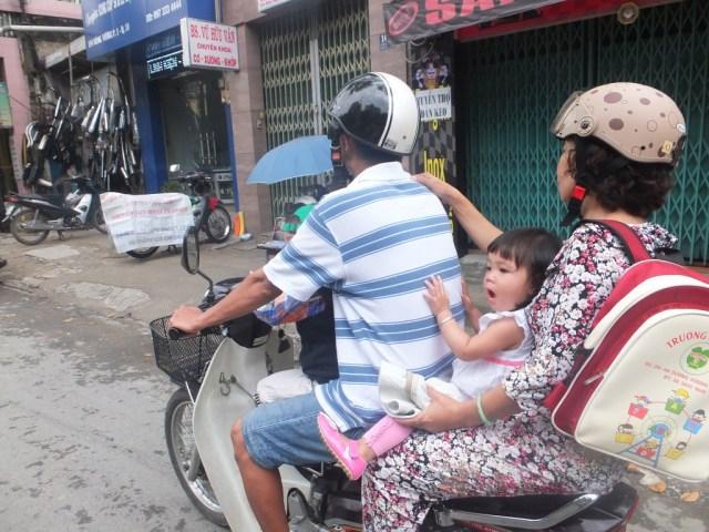 The roads of Saigon