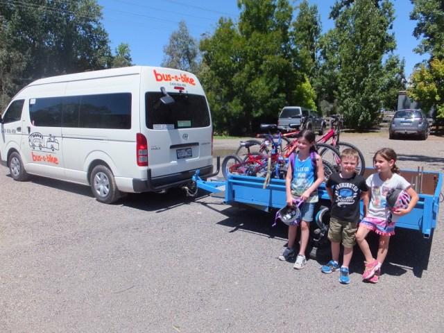 Bus-A-Bike, Myrtleford