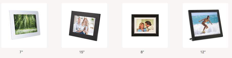Electronic Photo Frames - these I found on Ebay.
