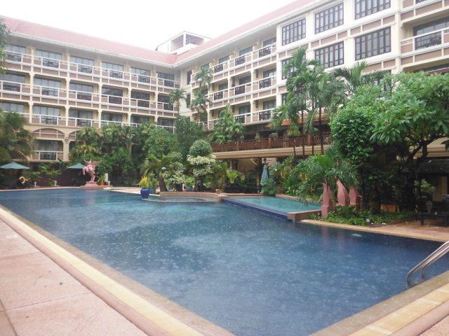 The pool, Prince d'Angkor Hotel & Spa