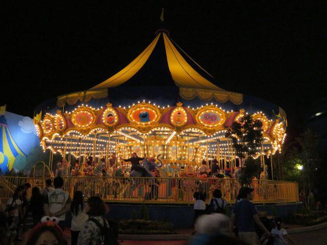 Universal Studios carousel