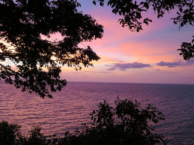 But if you don't like orange sunsets, we have purple too!