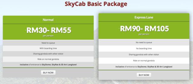 basic package skycab