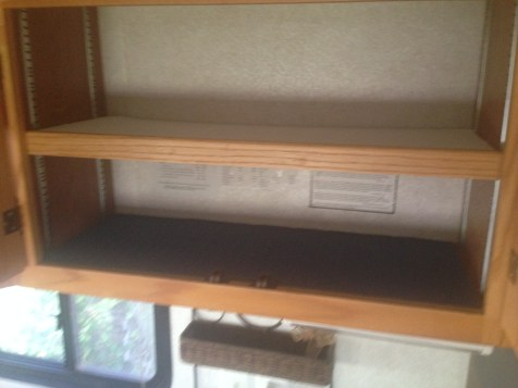 Cabinets with liner