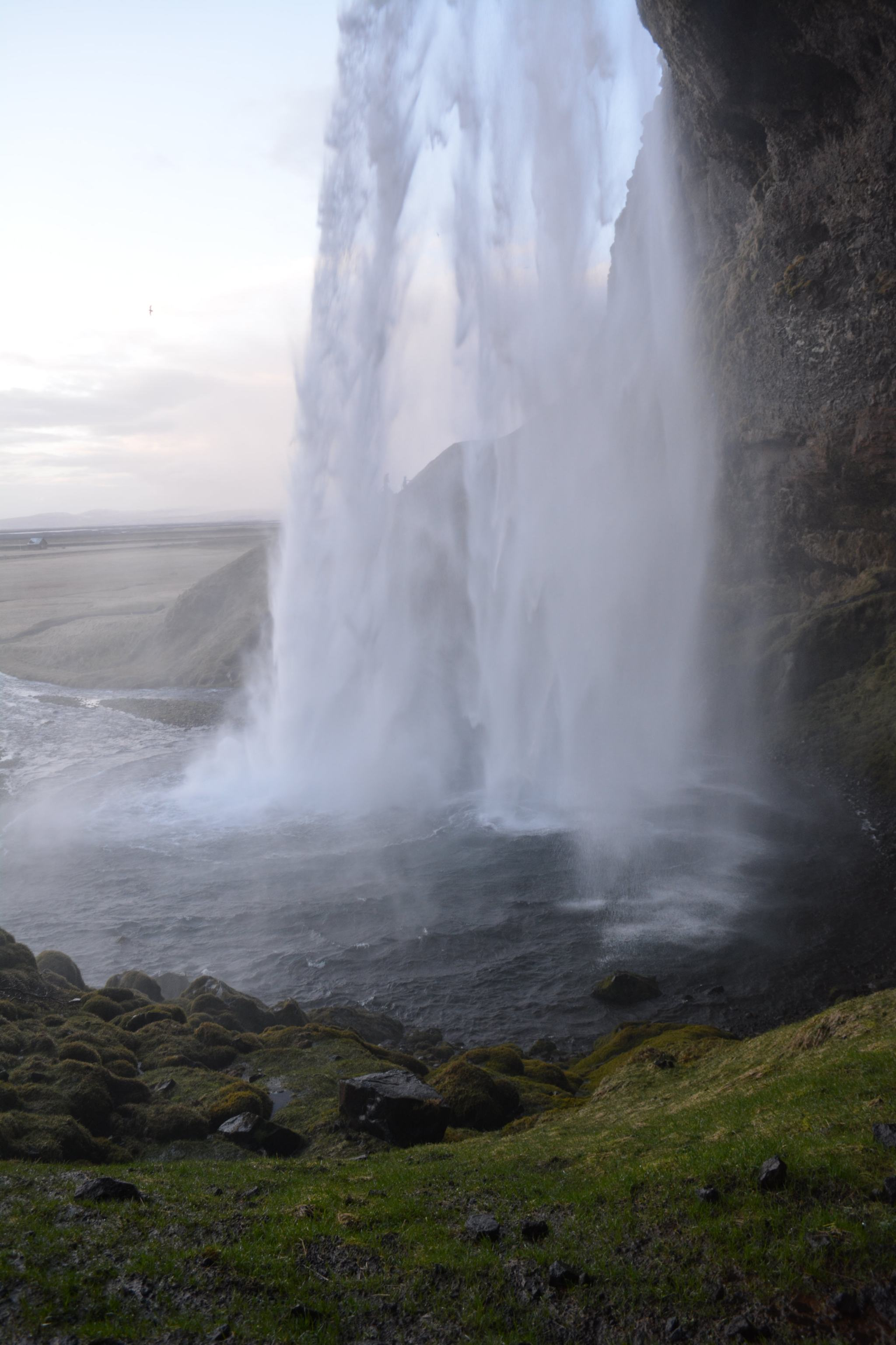 Iceland Honeymoon Destinations Behing Seljalandsfoss Waterfall