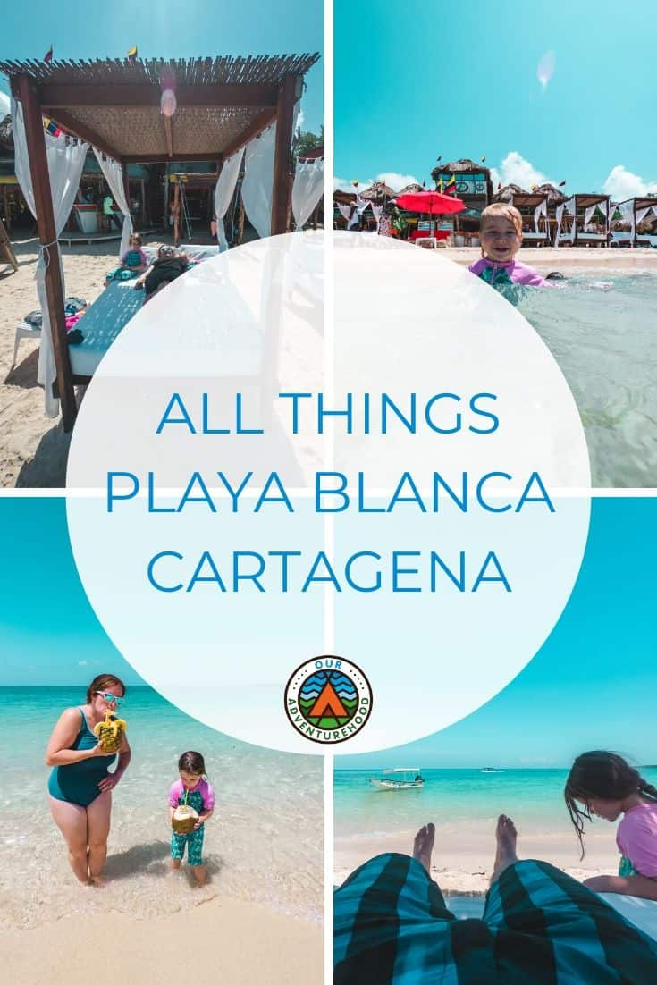If you are planning on heading to Cartagena then you need to visit Playa Banca.  White sand beaches and clear blue seas.  Find out everything you need to know here.