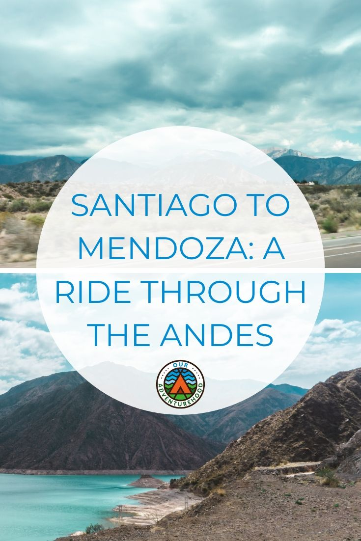 Travelling with young kids can be hard but bus trips are easy. We travelled through the Andean mountains by bus from Santiago to Mendoza! It was a complete joy! #santiago #mendoza #andes