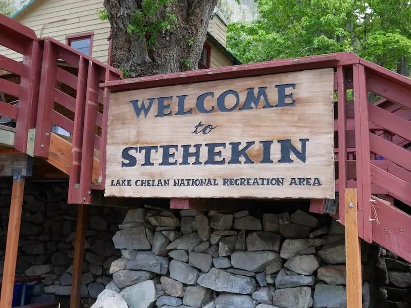 welcome to Stehekin Washington