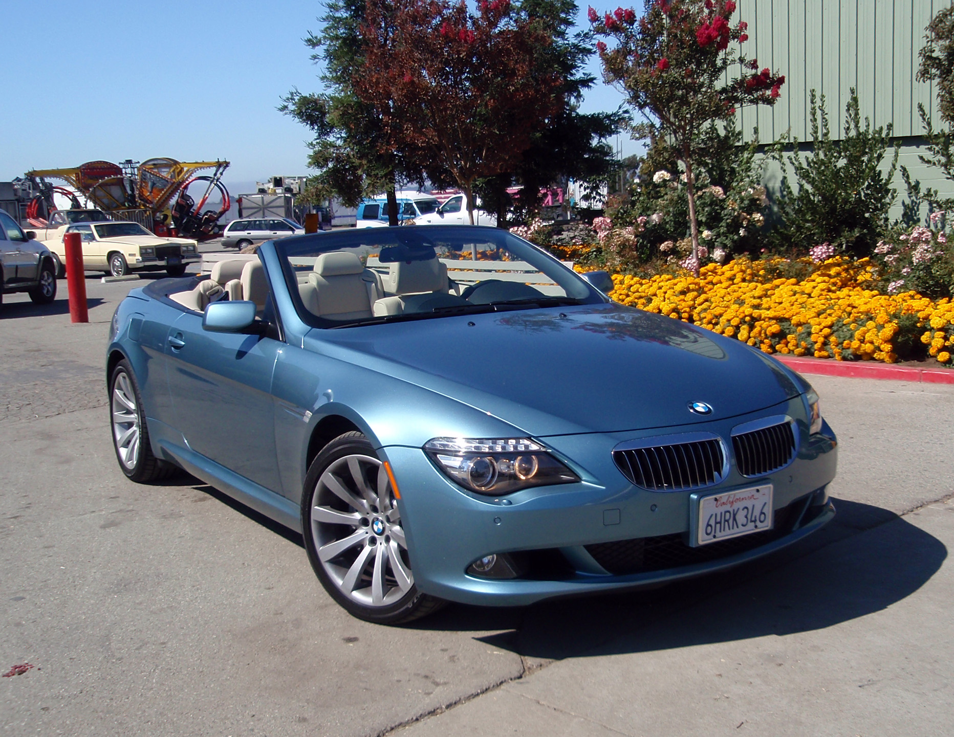 test drive bmw 650i convertible our auto expert. Black Bedroom Furniture Sets. Home Design Ideas