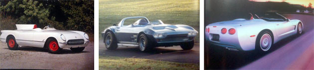 Corvettes Over The Years