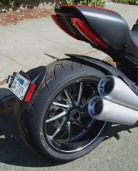 2012 Ducati Diavel - exhaust