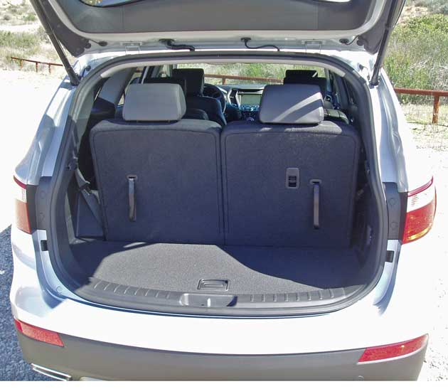 Hyundai Santa Fe 3rd Row