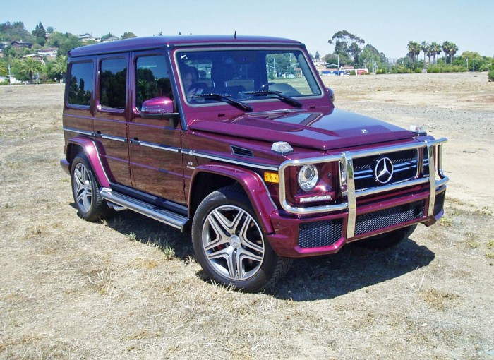2013 Mercedes Benz G63 Amg Test Drive Our Auto Expert