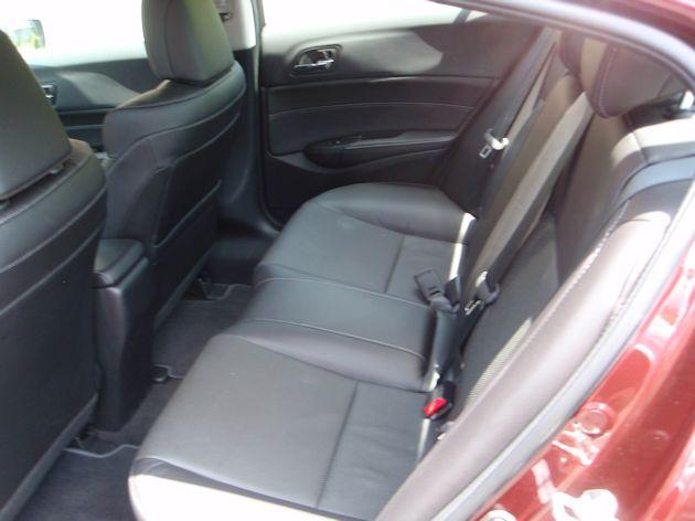 2014 Acura ILX back seat