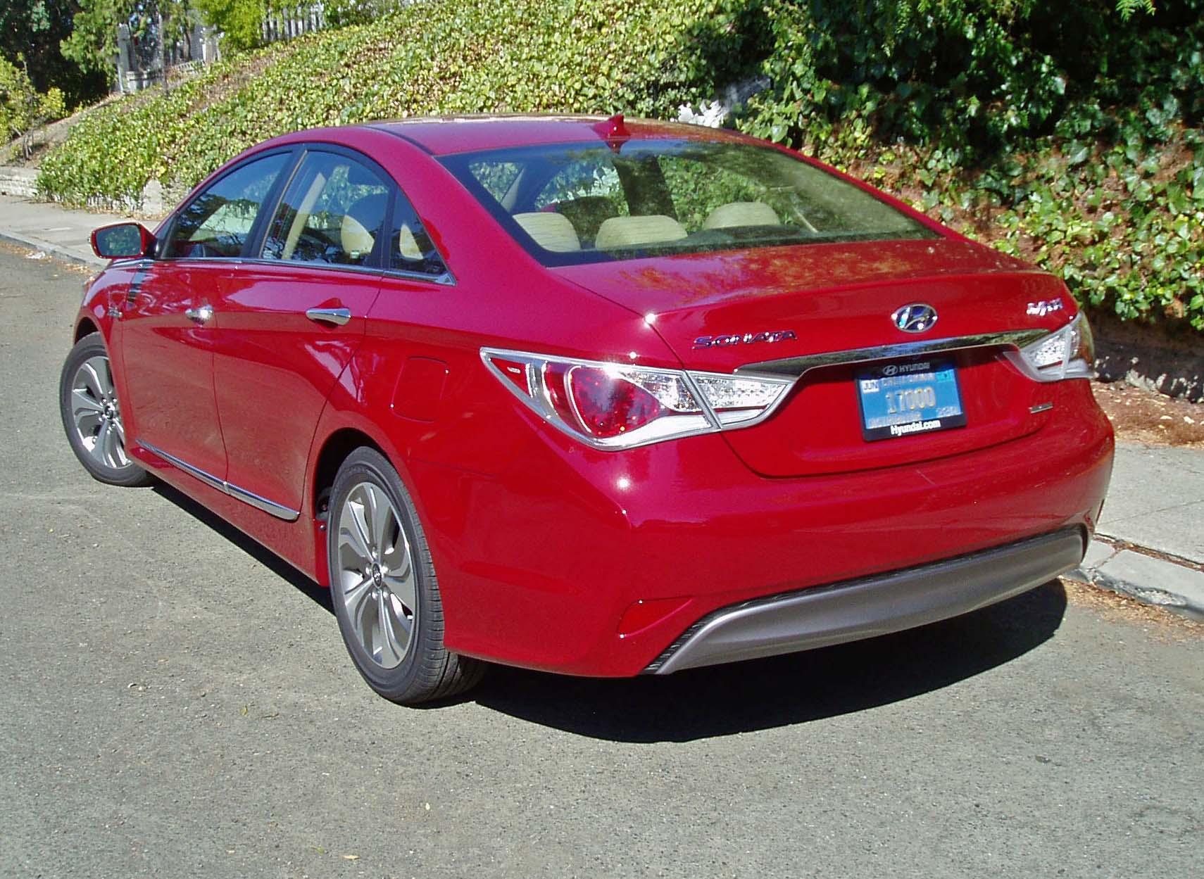 2013 Hyundai Sonata Hybrid Limited Test Drive Our Auto