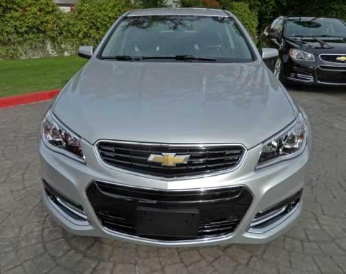 Chevrolet-SS-Nose