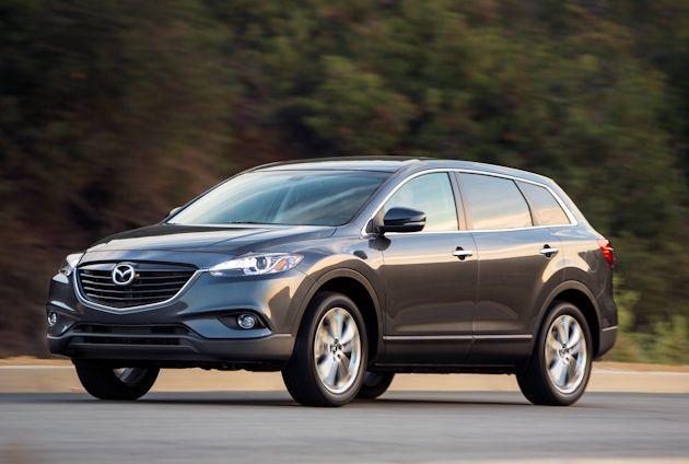 2014 Mazda CX-9 front
