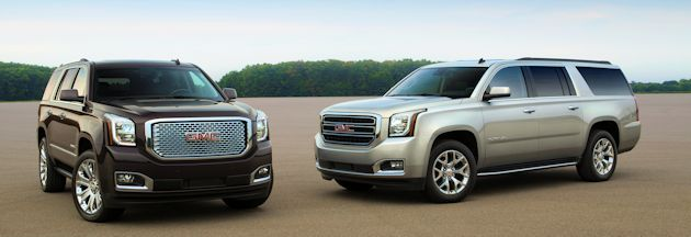 Full Size SUVs Yukon & XL