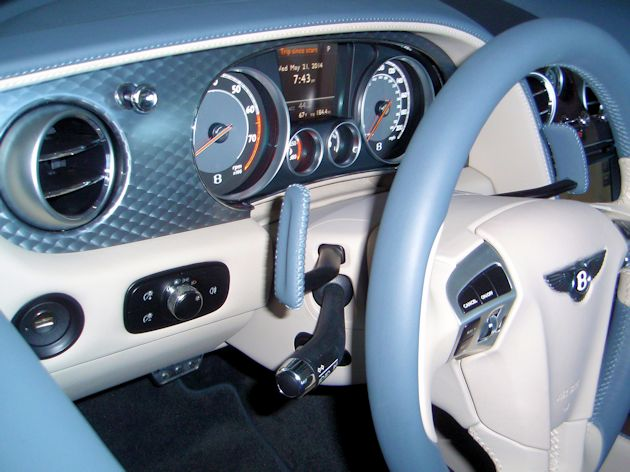 2014 Bentley Continental GTC dash