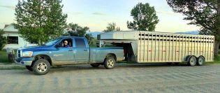 Bill's sister's Ram 3500 pickup
