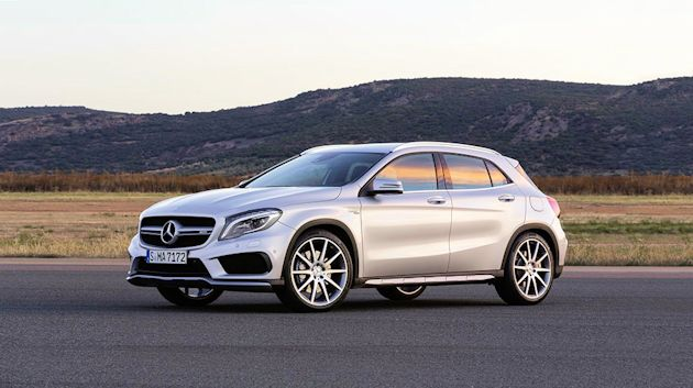 2014 Concept Awards MB GLA45 AMG front